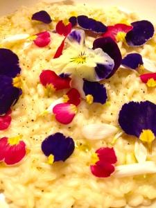 risotto ai fiori